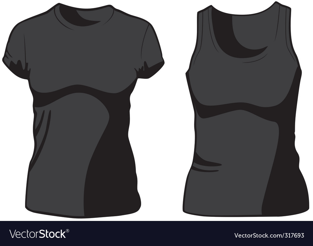 Womans casual wear vector image