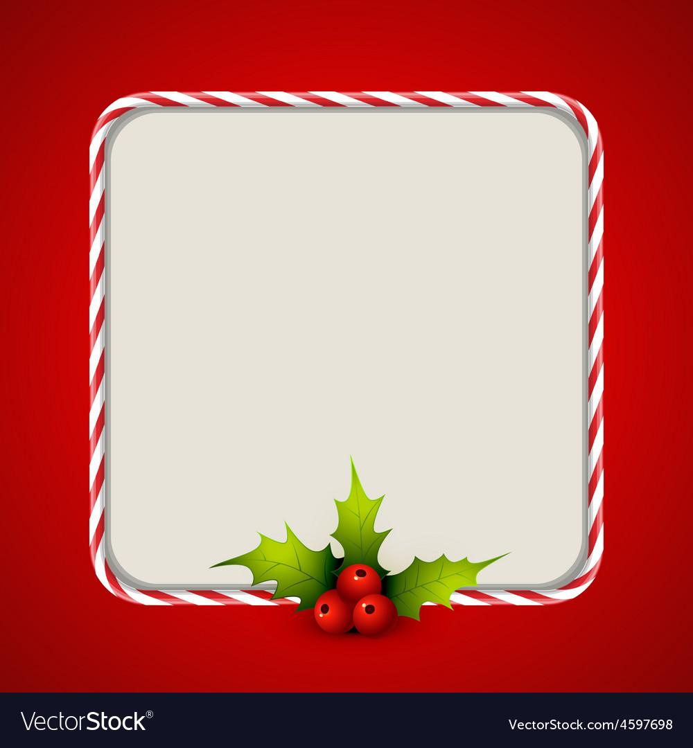 Stylish christmas background vector image