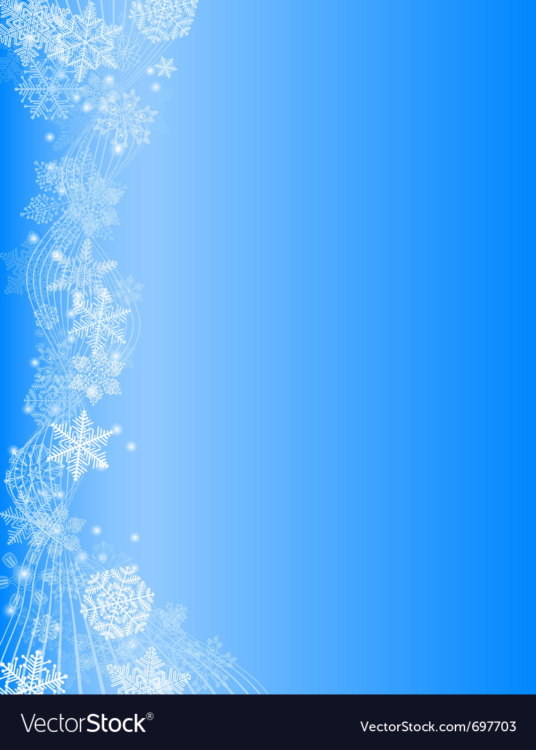 White Christmas Snow Background.Abstract Blue Christmas Background With White Snow