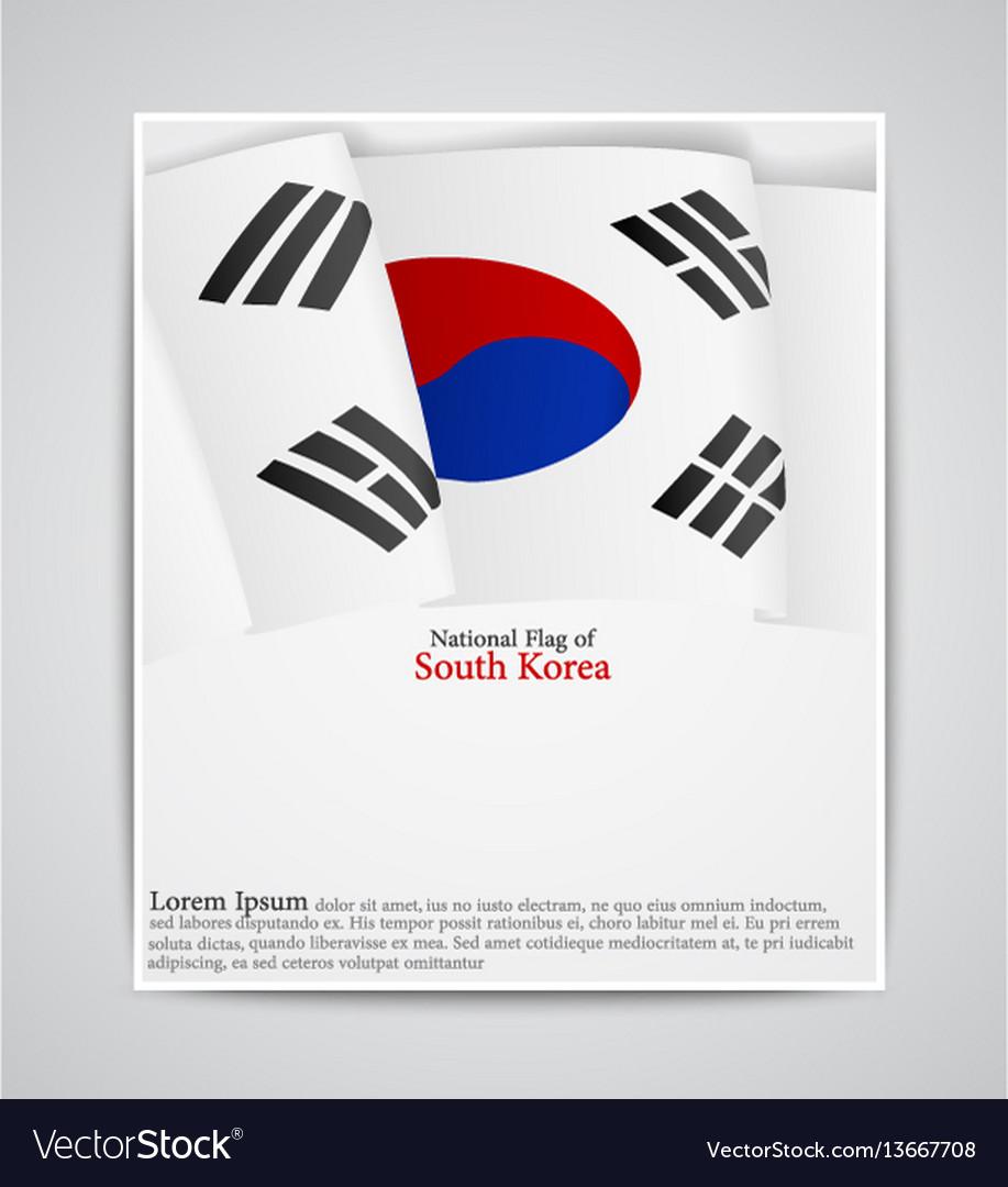 National flag of south korea