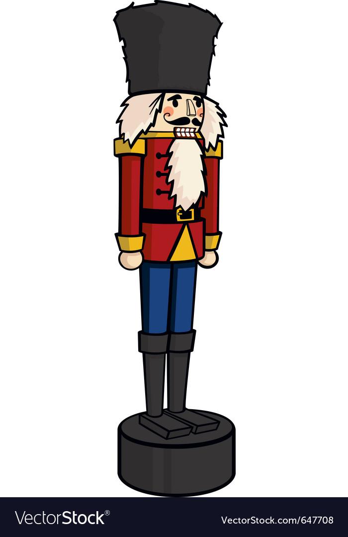 Nutcracker christmas holiday cartoon