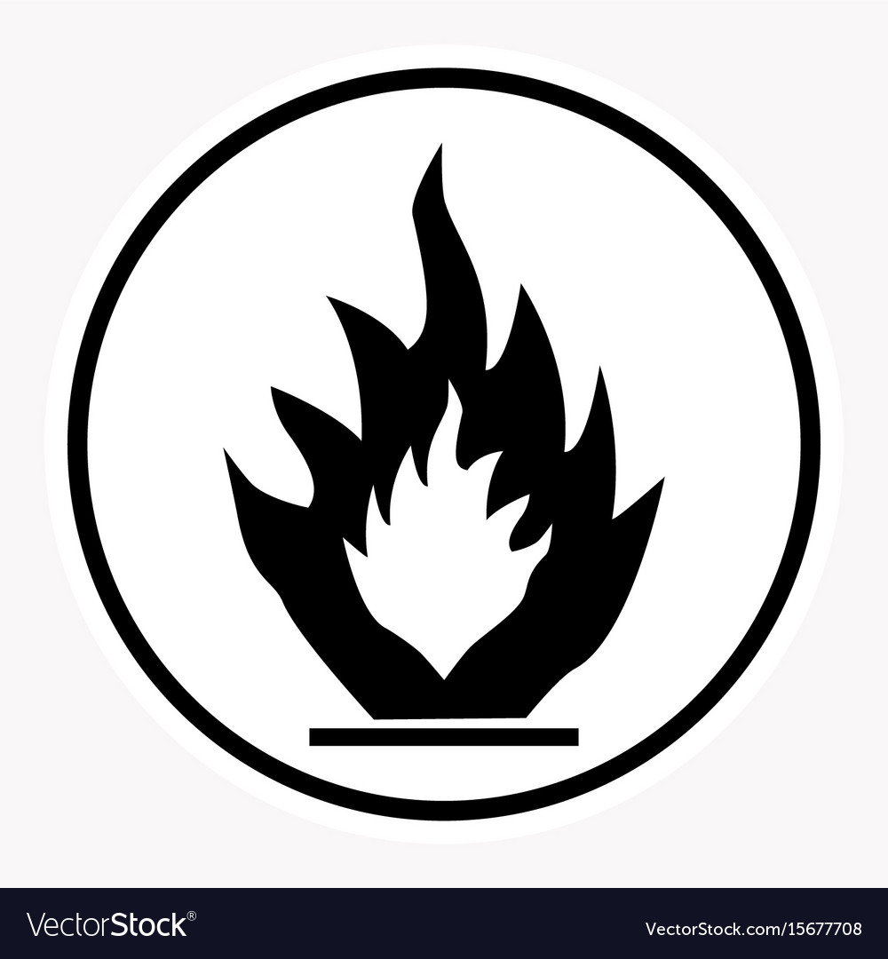 Warning and danger sign attention symbol