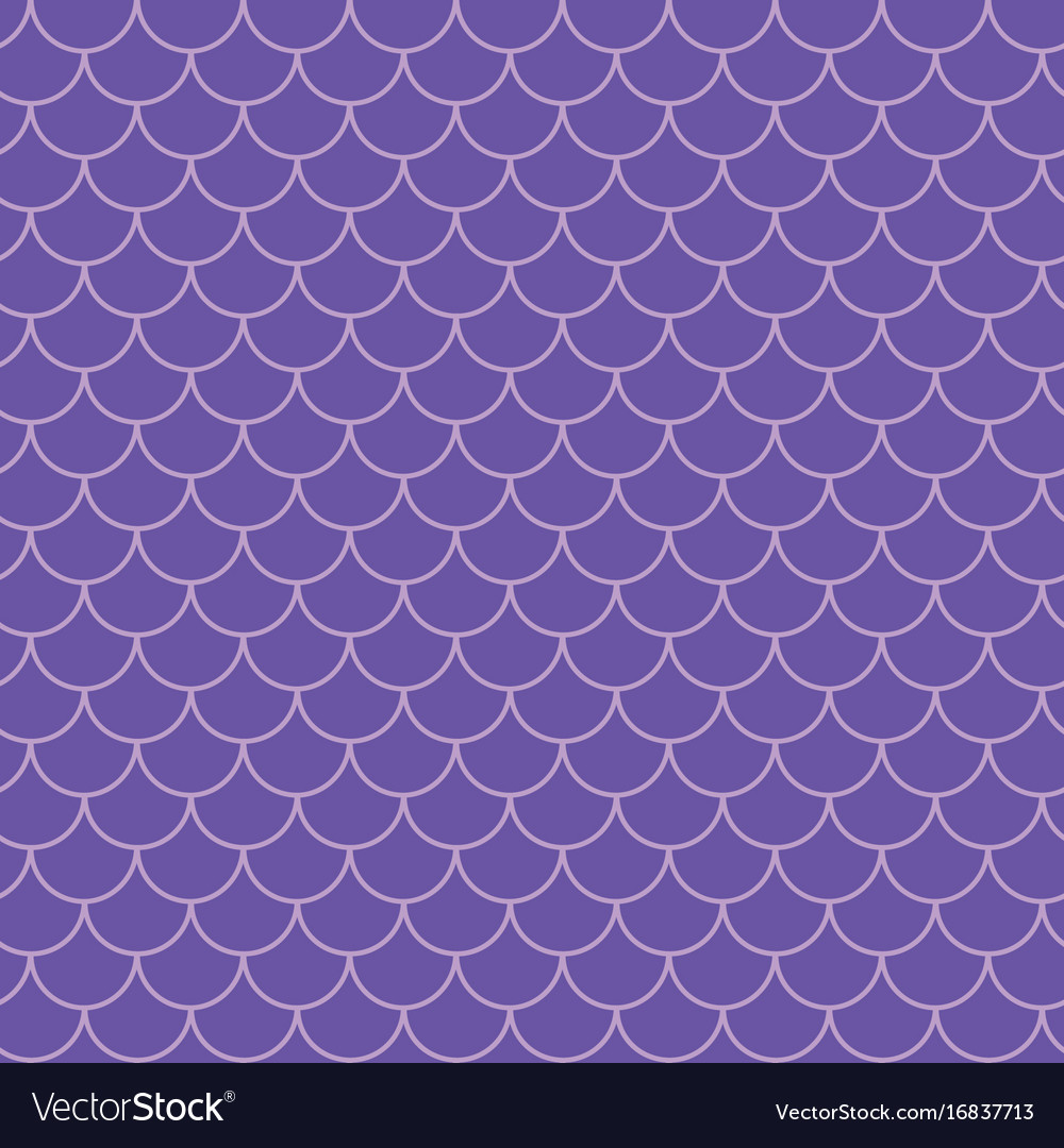 Mermaid tail seamless pattern