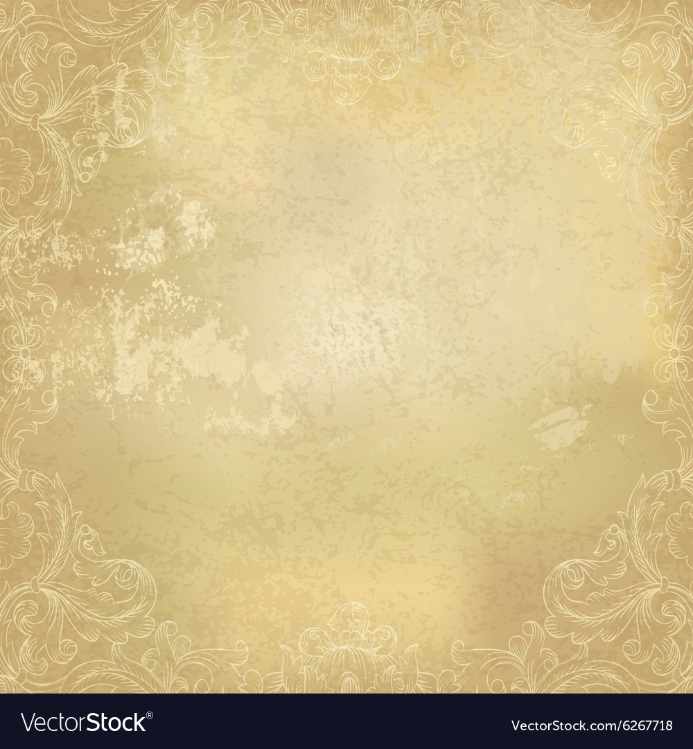 Aged background paper ornamental
