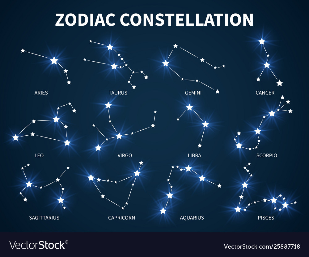 Zodiac constellation zodiacal mystic astrology