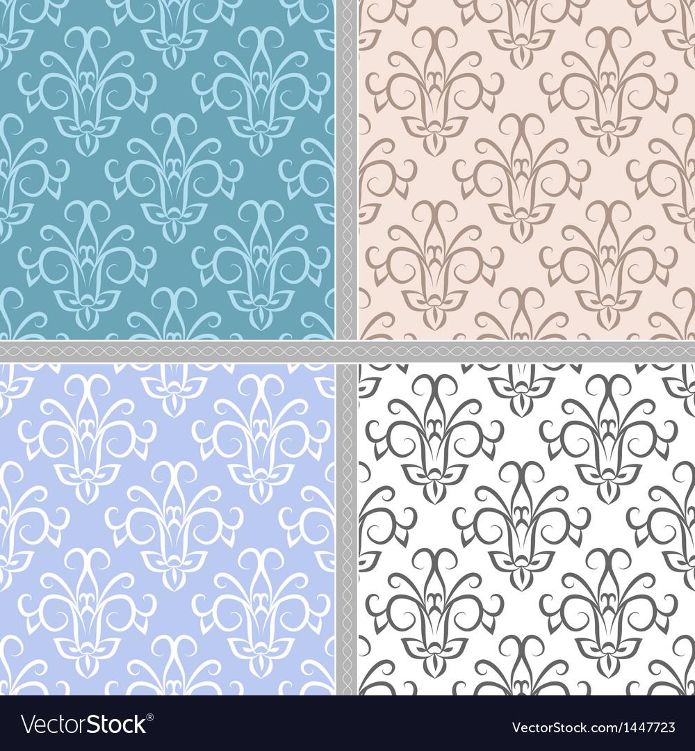 Seamless ethnic vintage pattern