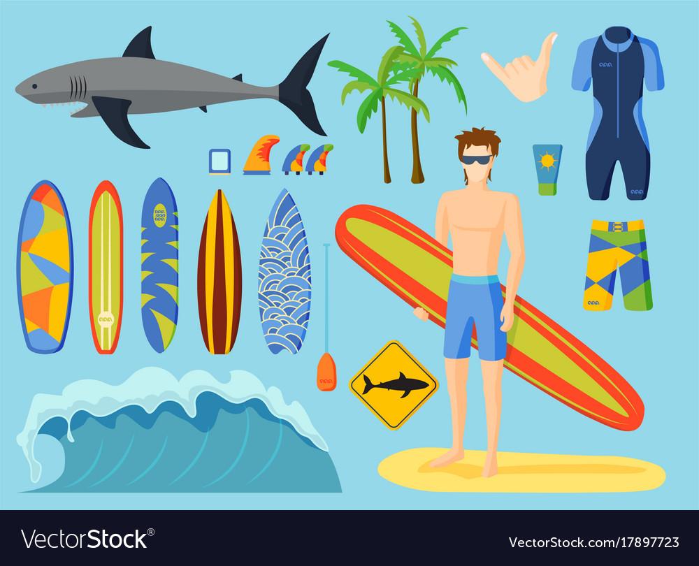 Surfing set
