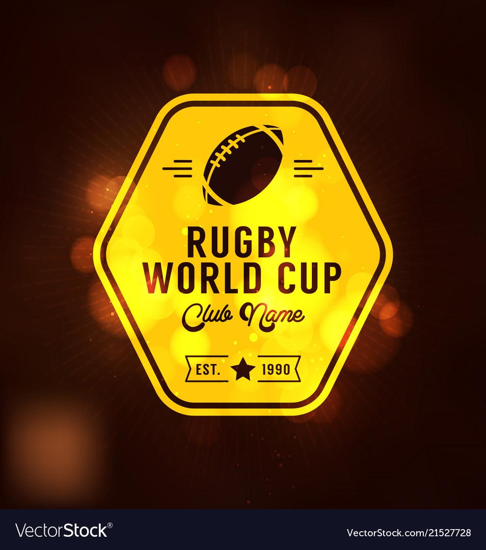 Rugworld cup logo sport