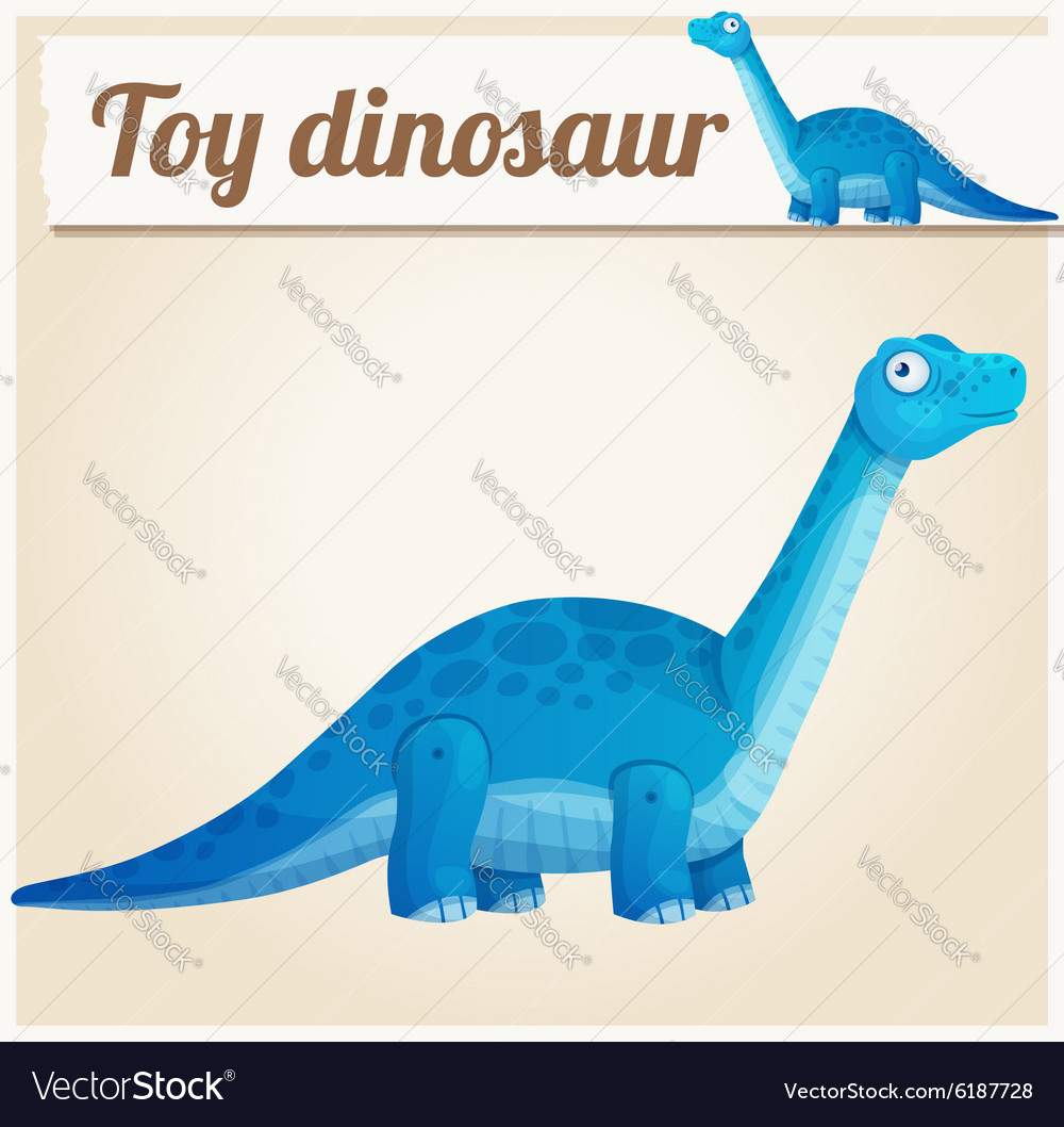 Toy dinosaur 2 Cartoon