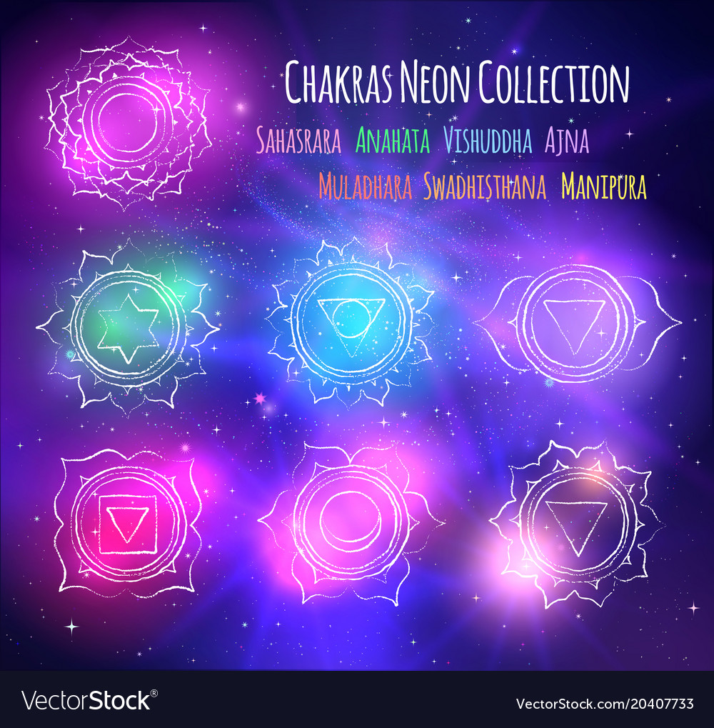 Space Line Art Background Wiring Diagrams Traxxas Slash 4x4 Parts Diagram Lzk Gallery Likewise Chakras On Outer Vector Image Rh Vectorstock Com Cute Trippy Backgrounds
