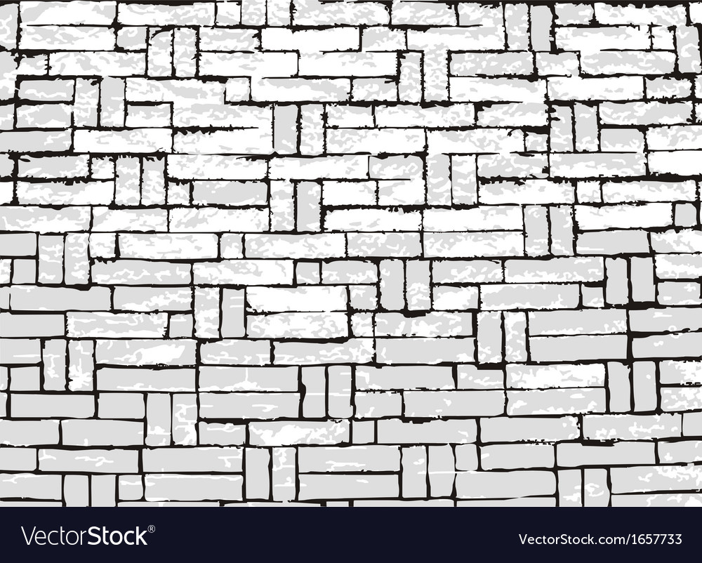 New brick wall of negative space