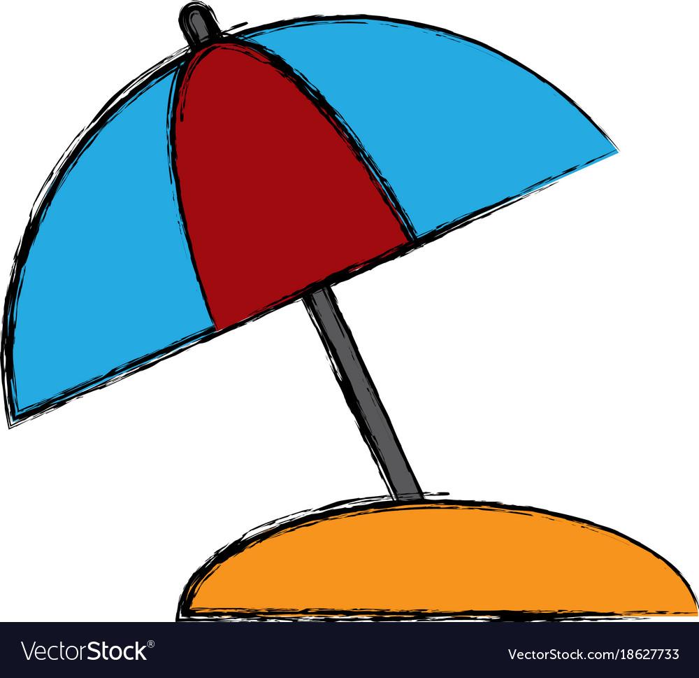 Umbrella protection symbol