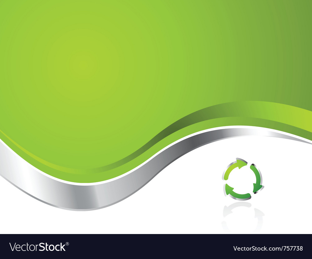 Environmental recycling background