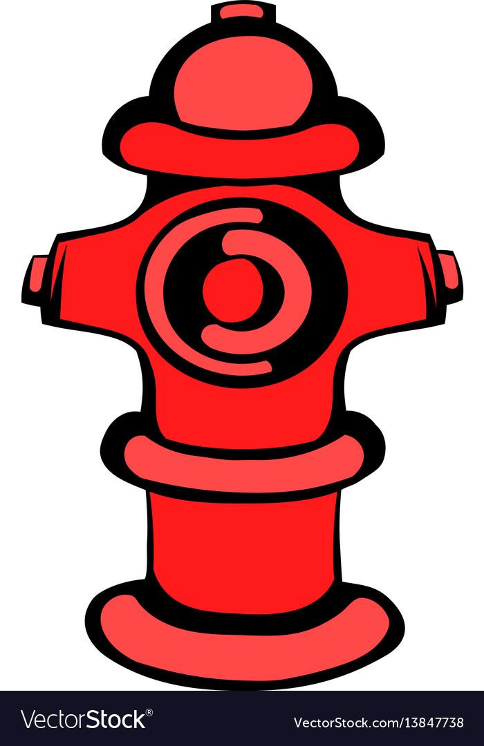Fire Hydrant Icon Icon Cartoon Royalty Free Vector Image