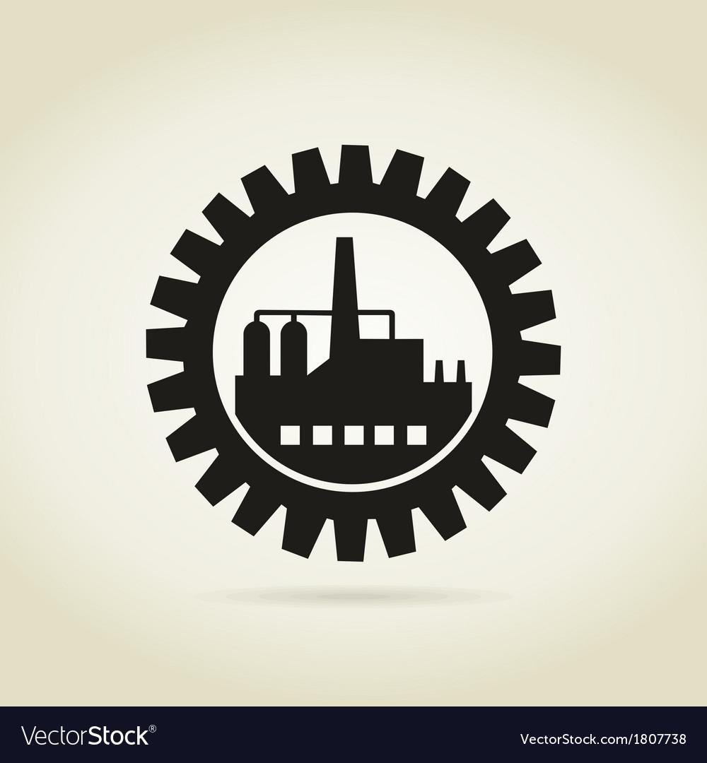 Gear wheel8 vector image