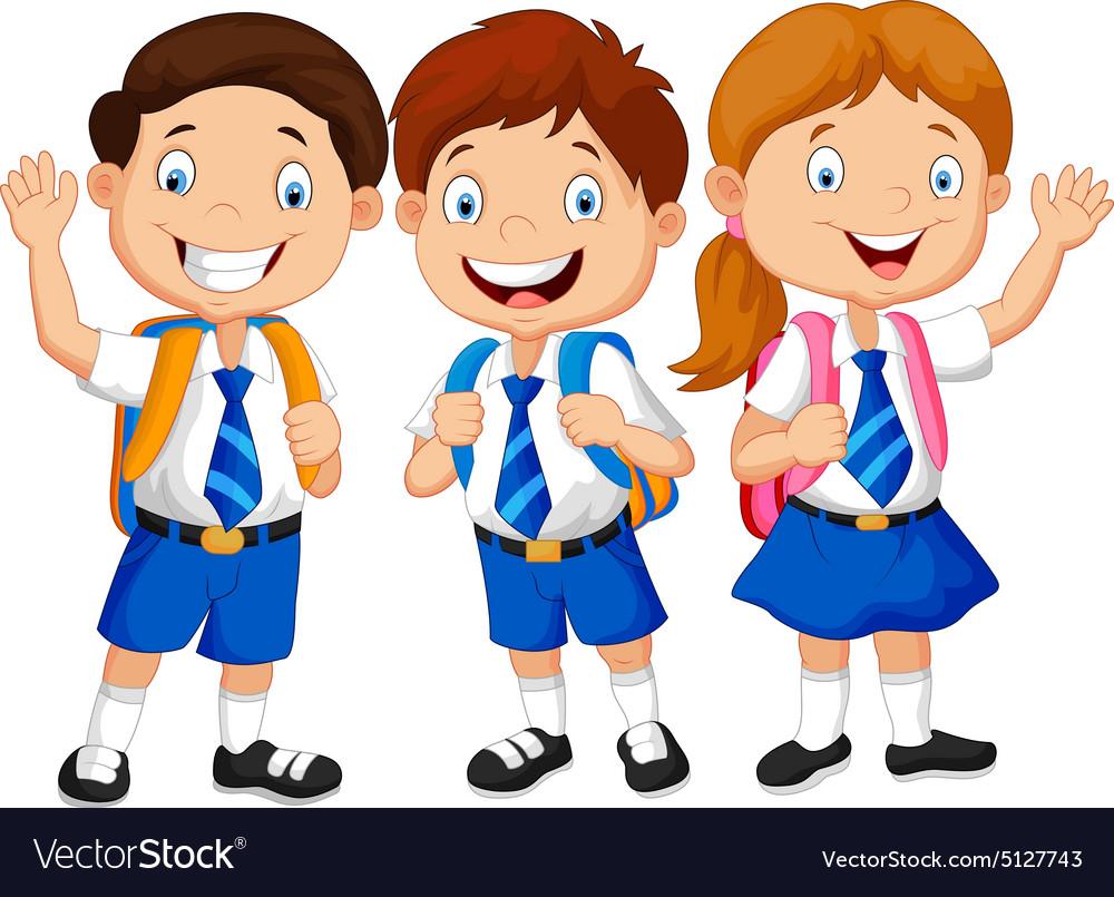 school children royalty free vector image vectorstock rh vectorstock com children victorian costume children victoria's secret