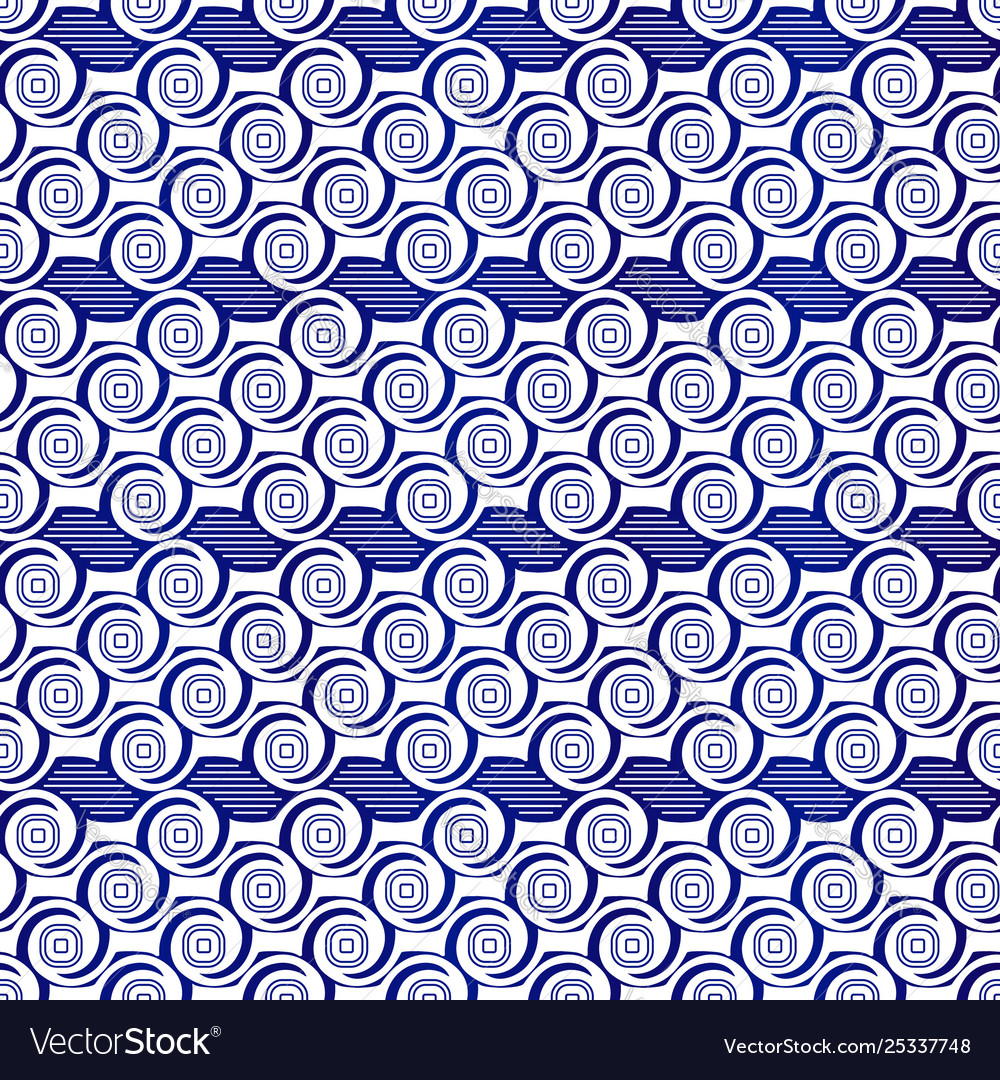 Abstract seamless pattern seamless wave