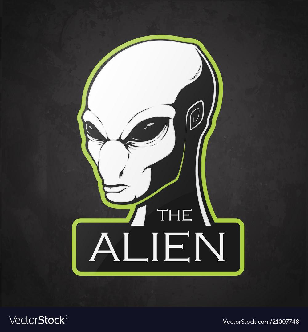 Head of alien