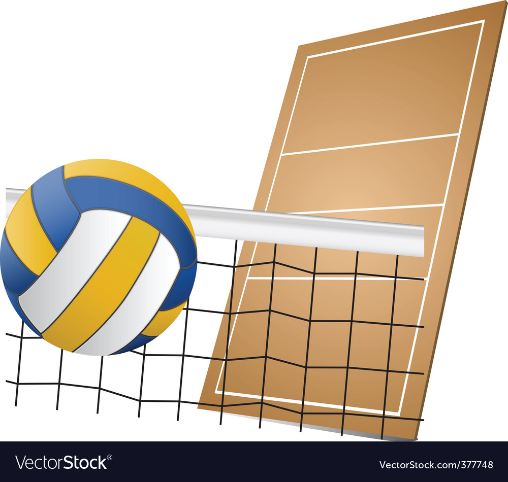 Volleyball design elements