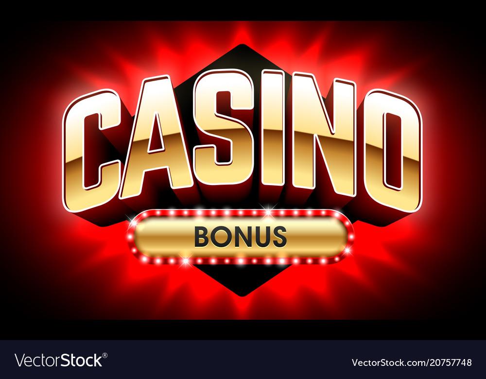 Welcome casino bonus banner first deposit bonus