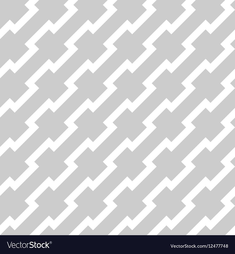 White zigzag lines in diagonal arrangement on grey