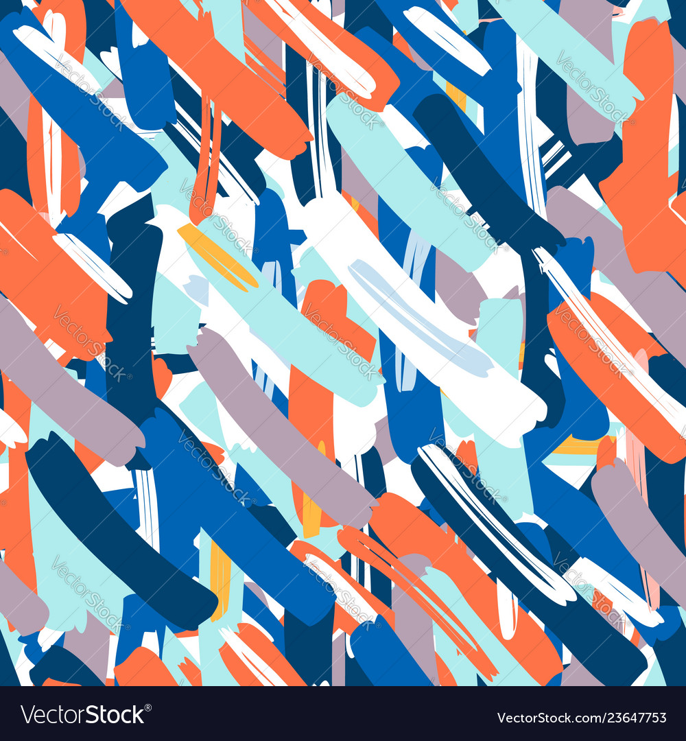 Abstract seamless pattern creative background