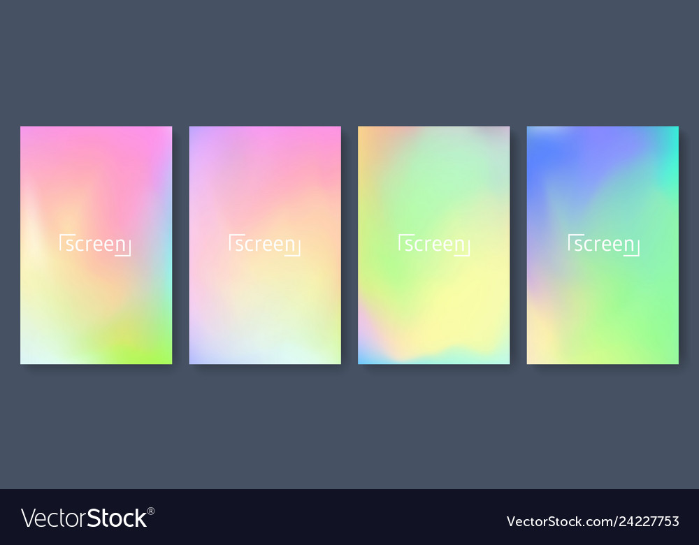 Bright color background with mesh gradient