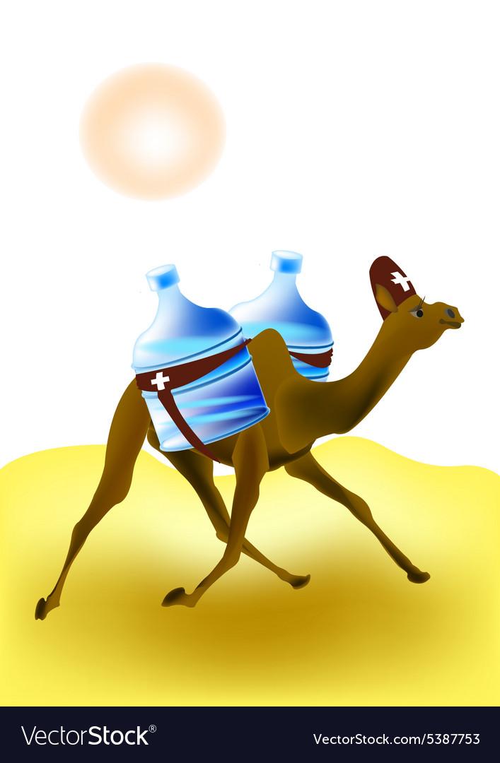 Camel rescuer