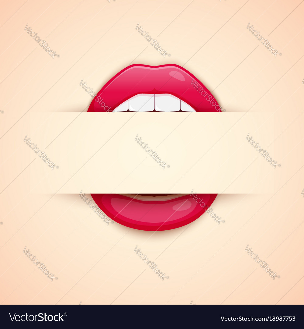 Makeup artist business card template with red vector image cheaphphosting Image collections