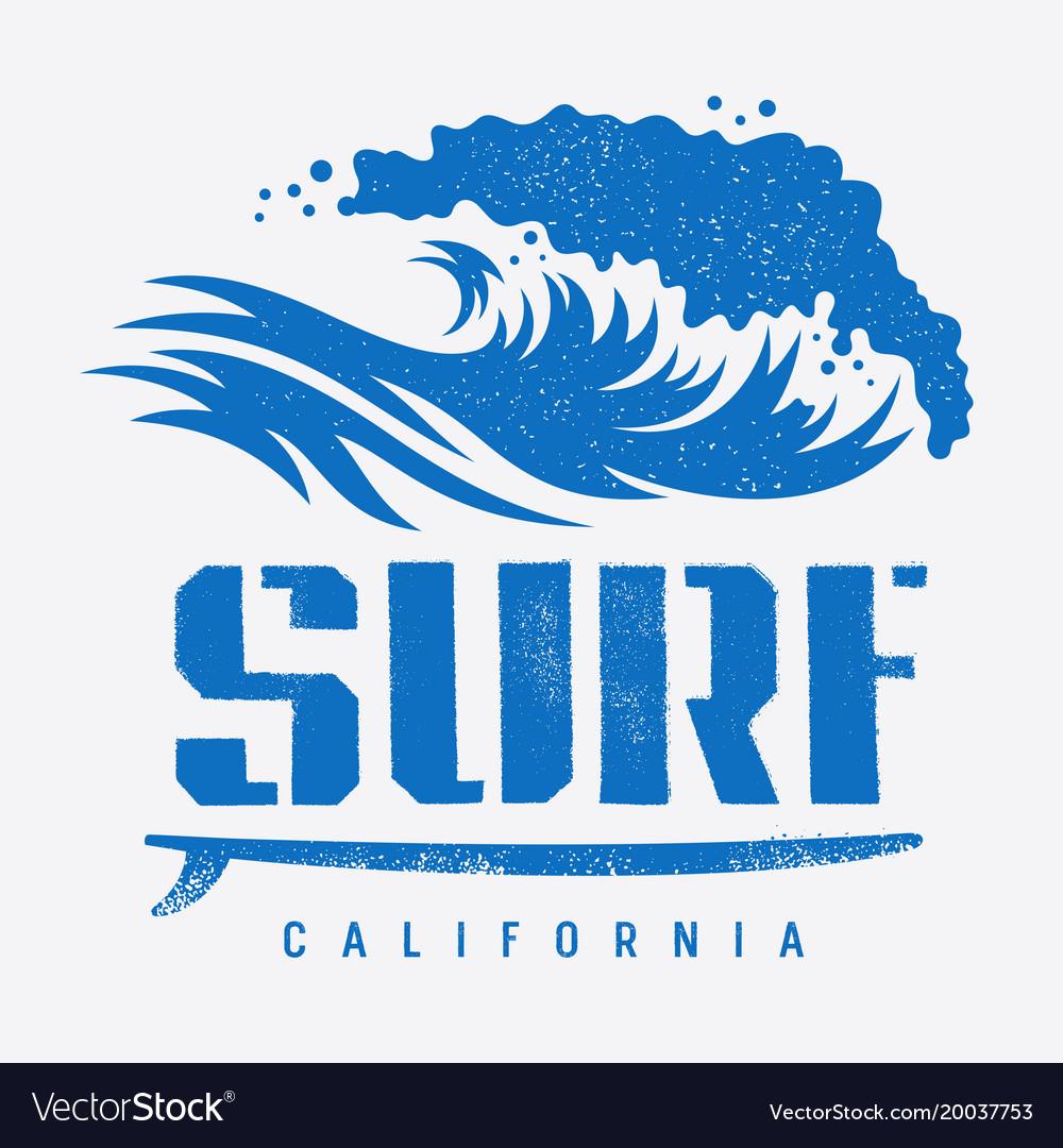 Surfing print 007