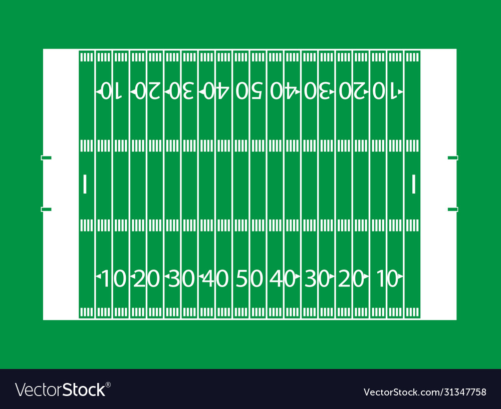 American football field background court soccer