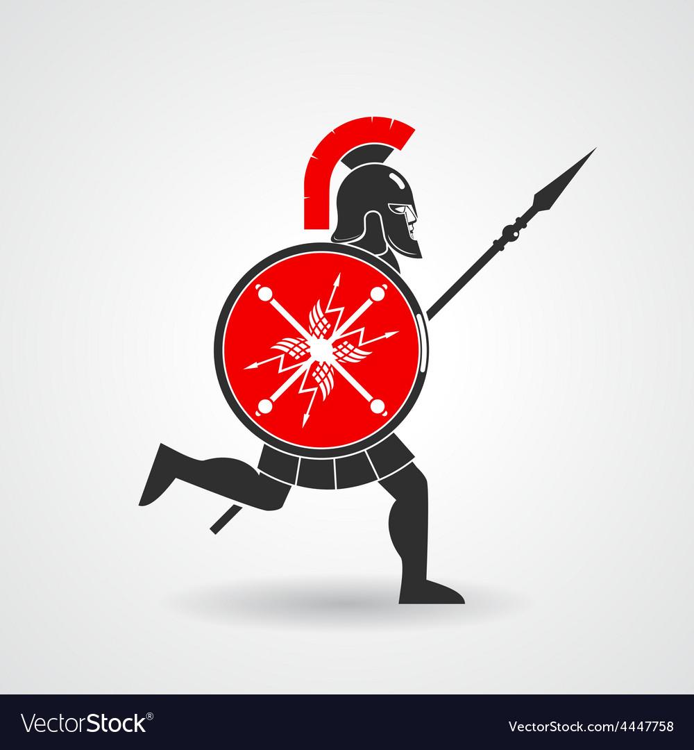 Ancient legionnaire warrior icon