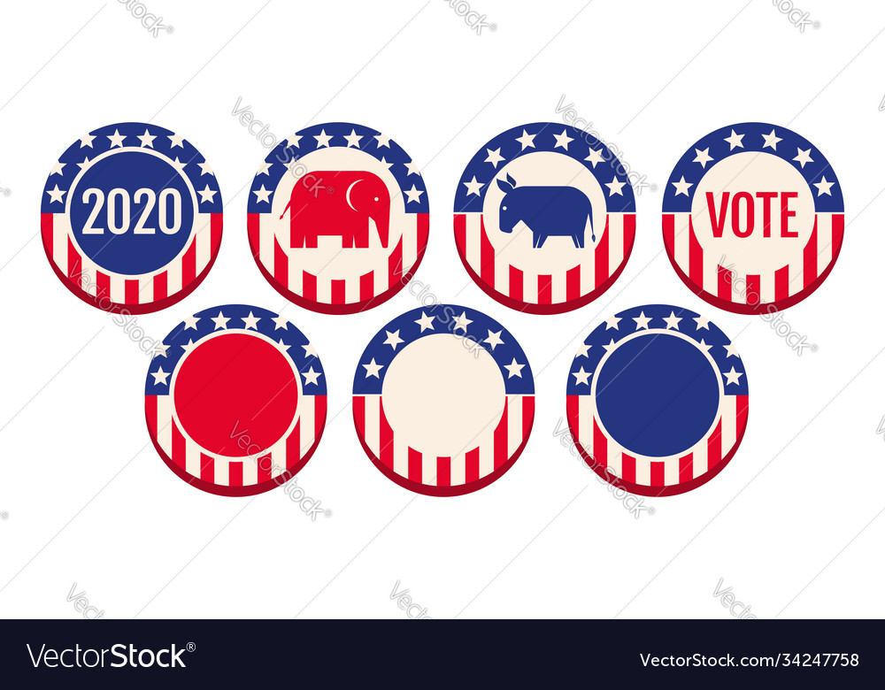Banners for 2020 presidential election
