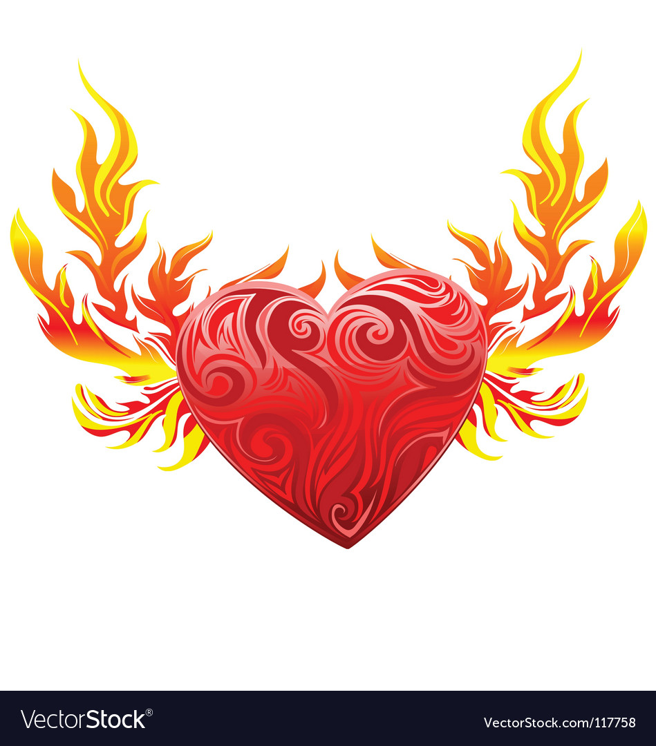 heart graphic royalty free vector image vectorstock