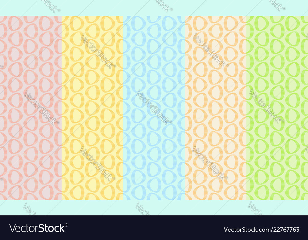 Abstract retro seamless pattern simple light