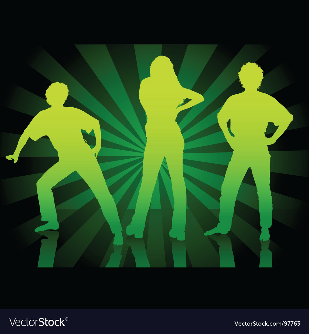 Dance parade vector image