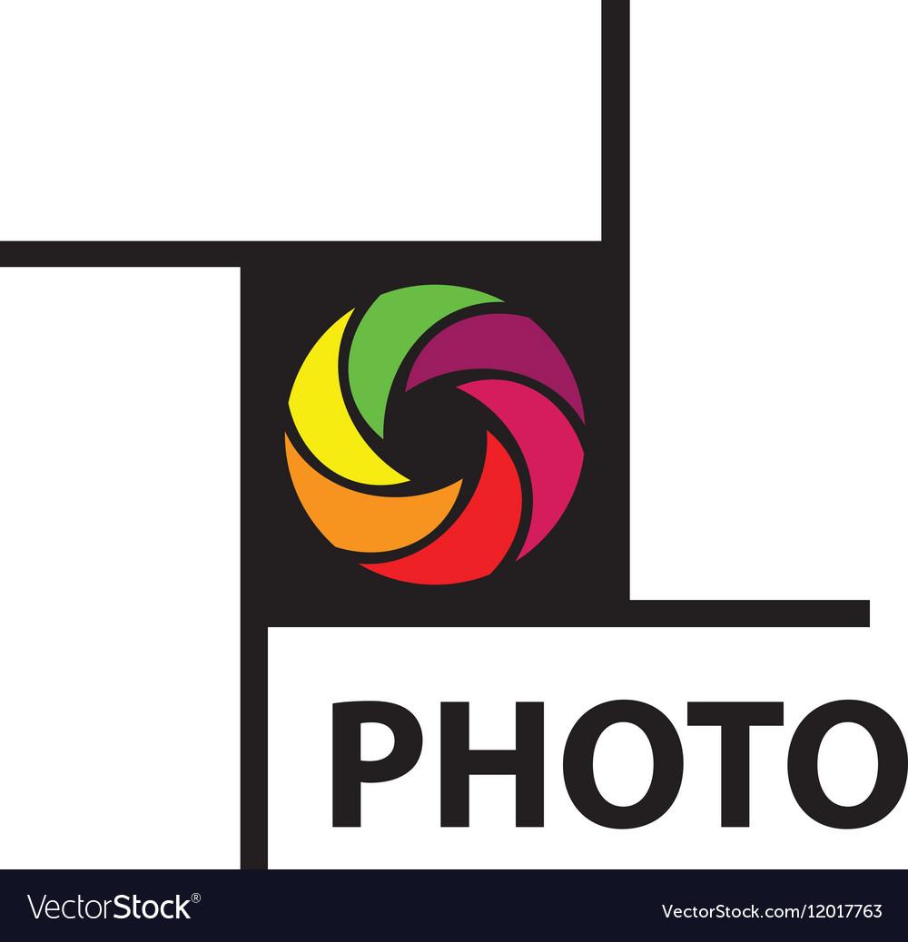 logo camera royalty free vector image vectorstock rh vectorstock com
