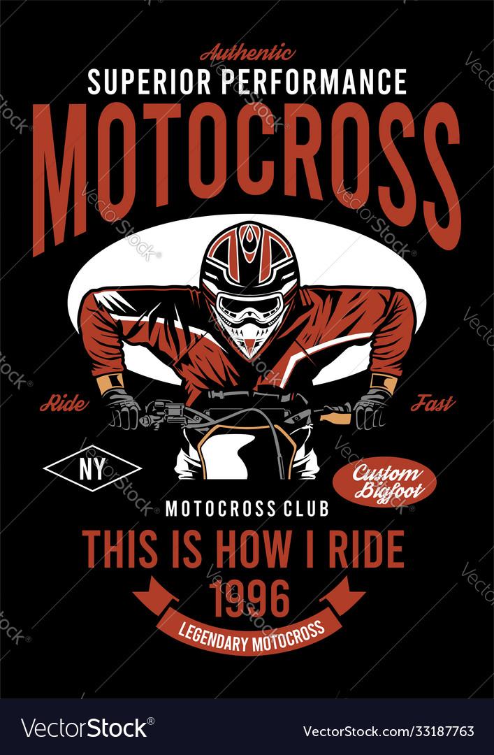 Motorcross performance