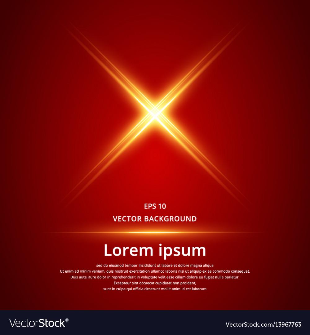 X symbol electric laser technology