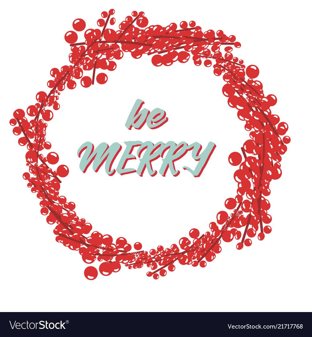 Christmas theme symbols template