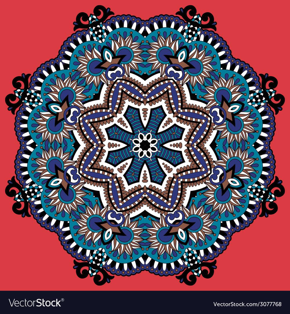 Circle ornament ornamental round lace