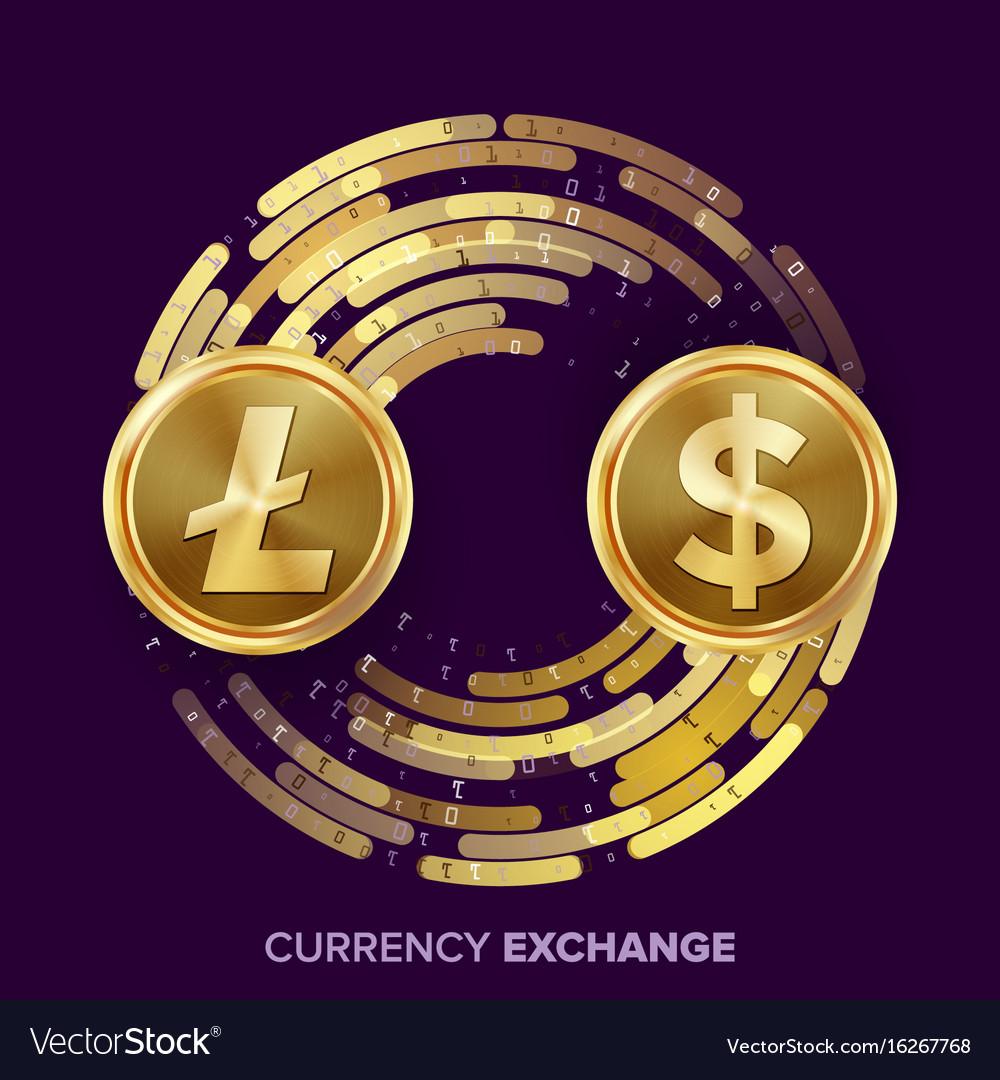 Digital currency money exchange litecoin