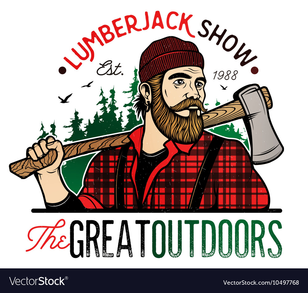 Lumberjack Template Logo
