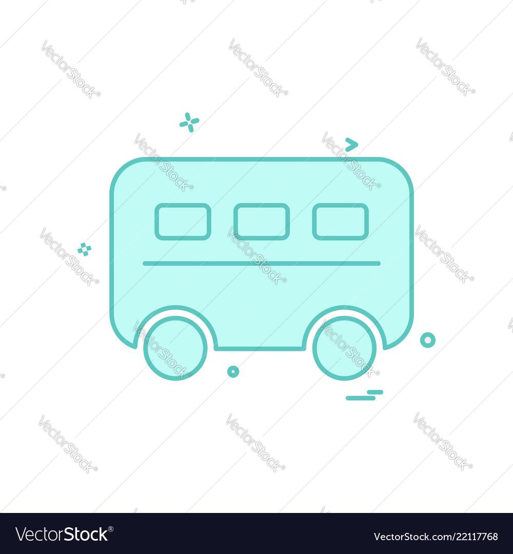 Van icon design