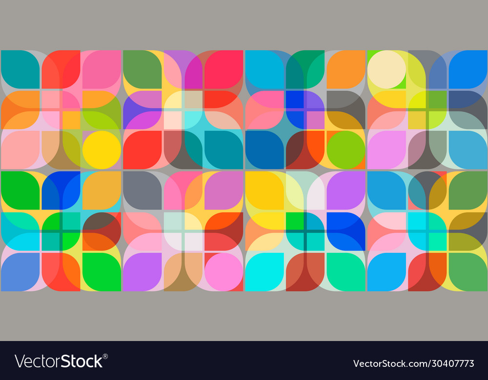 Abstract seamless background pastel and vibrant