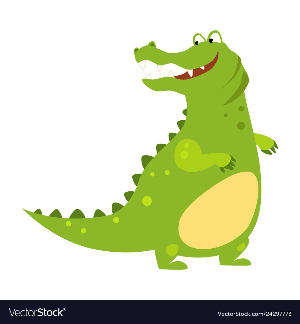 Alligator funny alphabet animal