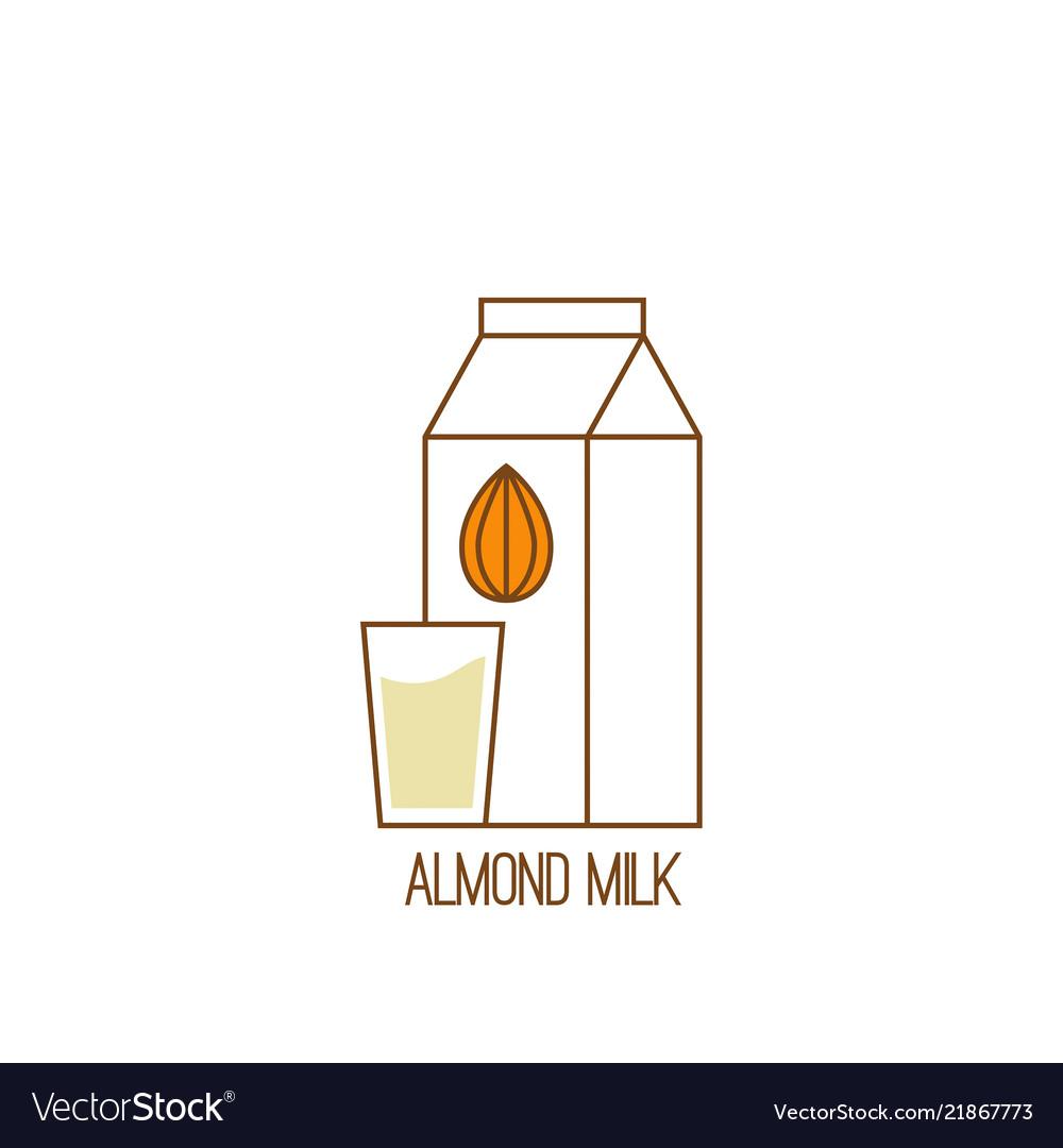 Almond icon nut
