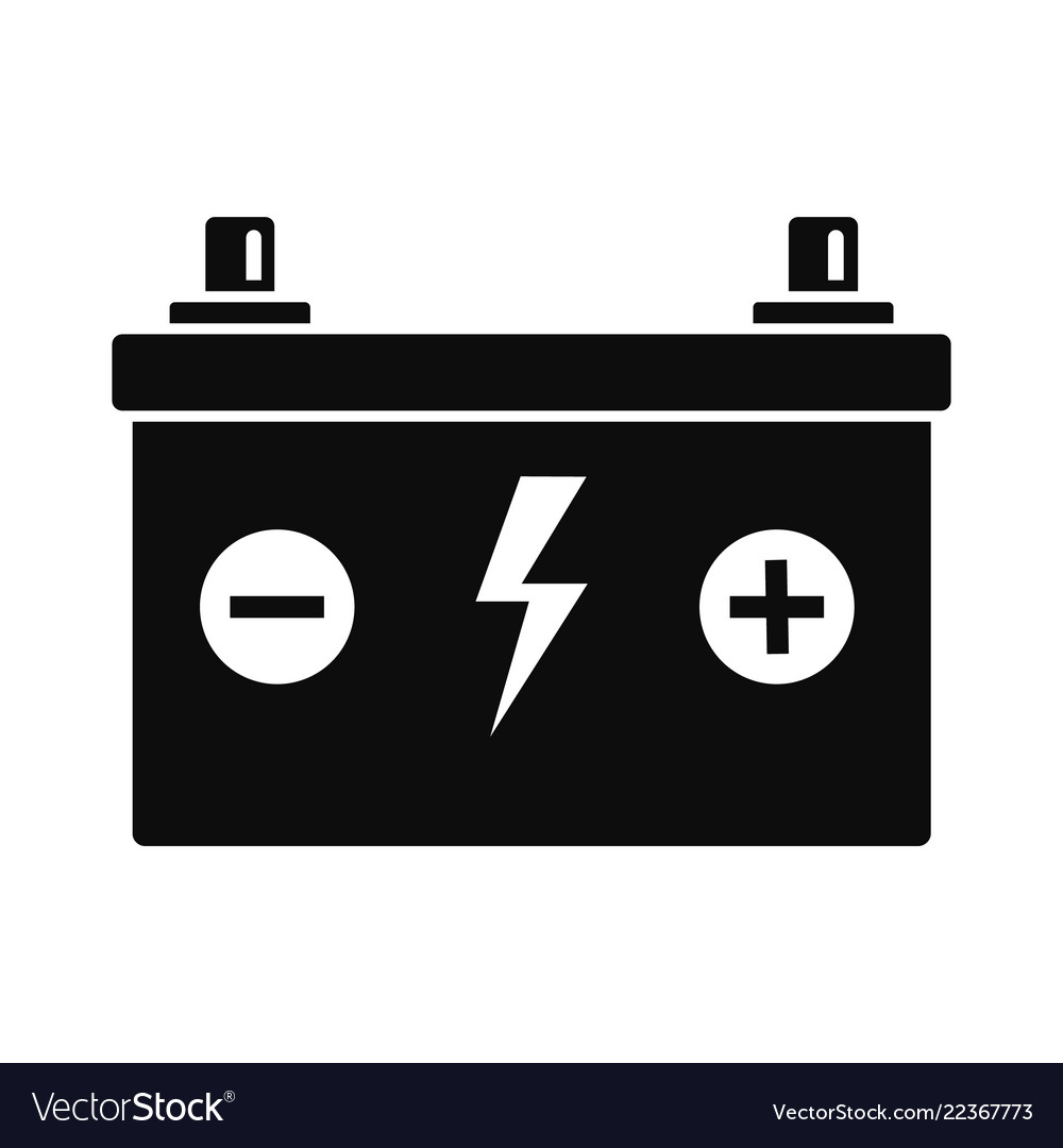 View Battery Vector Icon