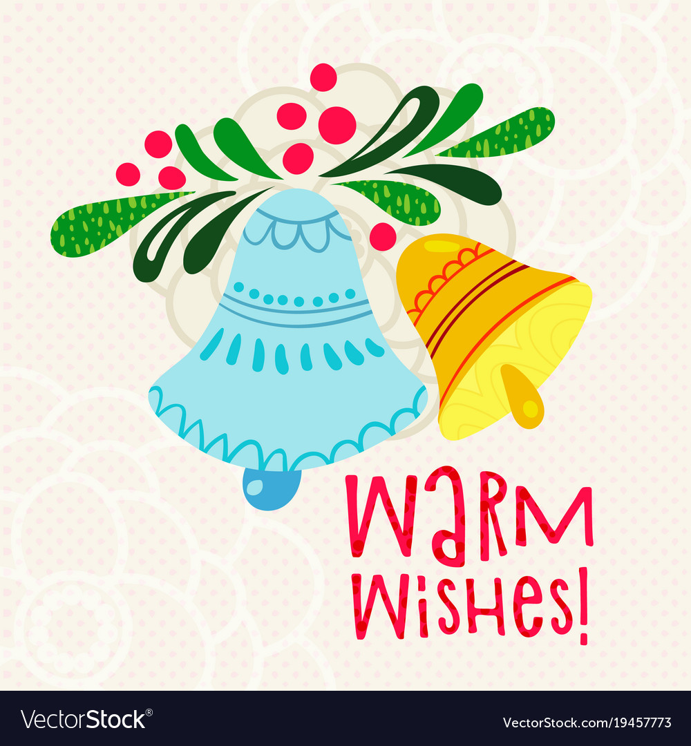 Christmas greetings warm wishes royalty free vector image christmas greetings warm wishes vector image m4hsunfo