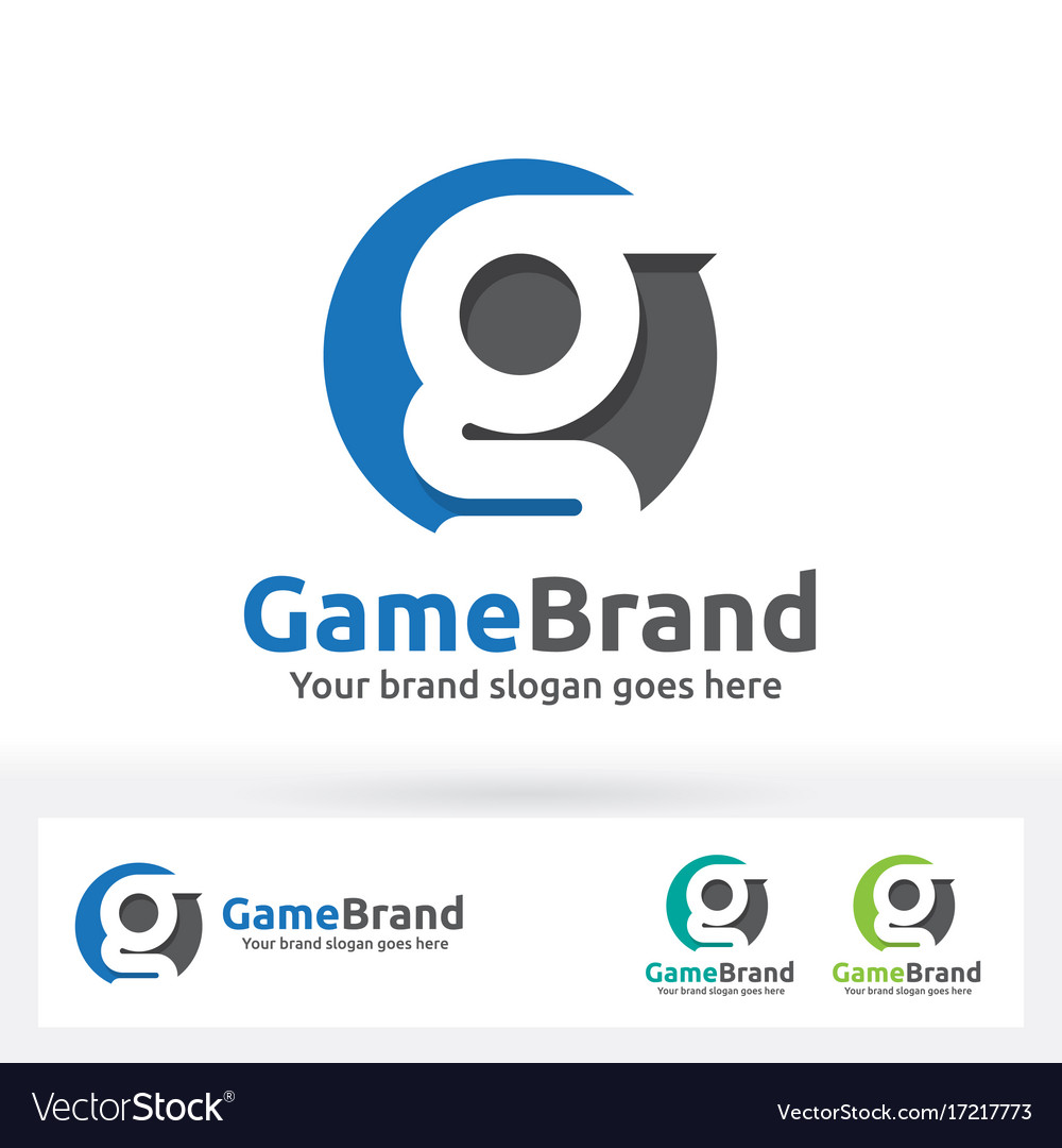 G letter brand logo g letter in a circle with